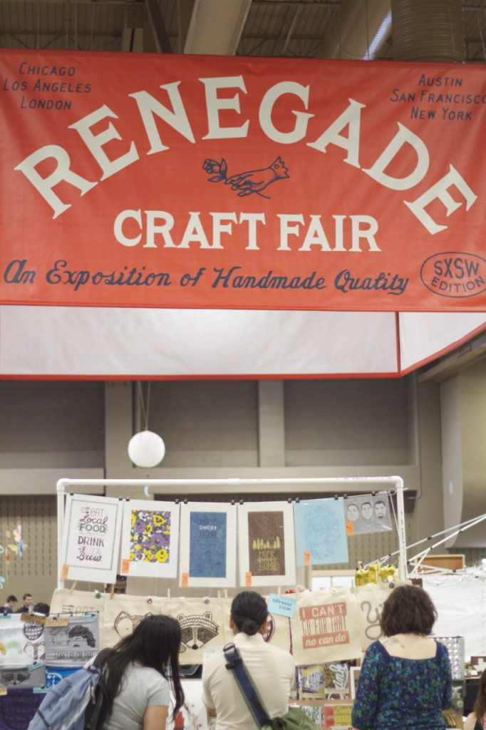 Renegade craft fair SXSW 2014 edition